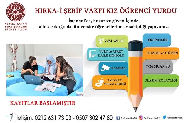İstanbul'da, huzur ve güven içinde, aile sıcaklığında, üniversite öğrencilerine ev sahipliği yapıyoruz.
